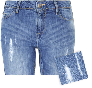 Destroyed Effekt Jeans