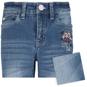 Light Blue Medium Washed Kinder Jeans