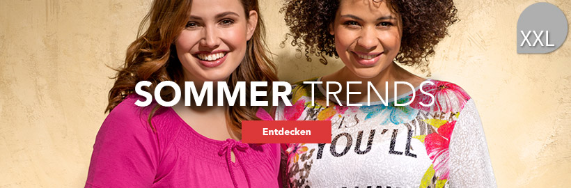 Sommertrends in XXL