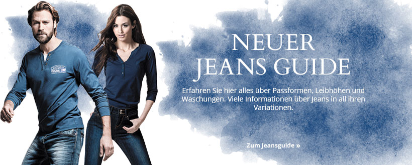 Unser neuer Jeans Guide