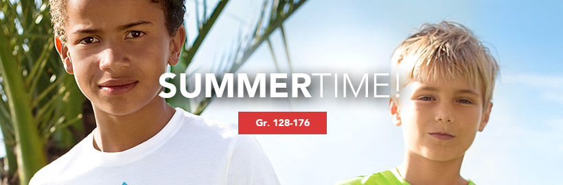 Jungen Teenager: Summertime