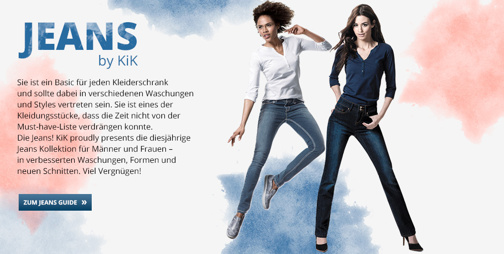 damen jeans online kaufen g nstige mode bei kik. Black Bedroom Furniture Sets. Home Design Ideas