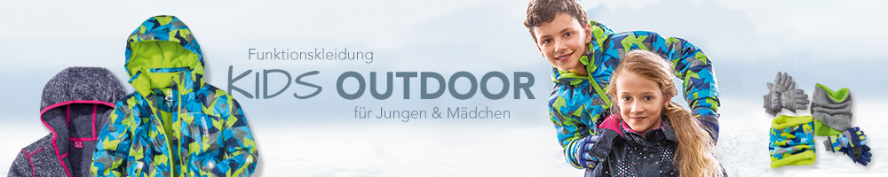 Outdoormode für Kinder